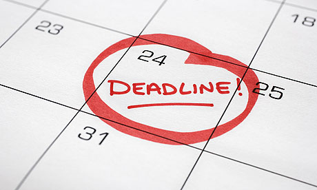 Missing an Agreed-Upon Deadline